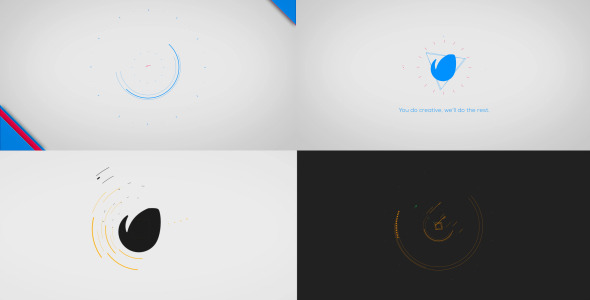 Videohive Minimal Logo Reveal Pack 01 8183219