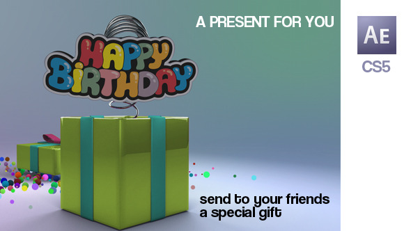 Videohive A Present for You 8818407