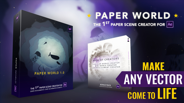 Videohive Paper World 21854162