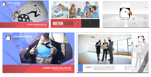 Videohive Corporate Slideshow Bundle 12190089