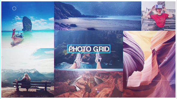 Videohive Photo Grid 22402192